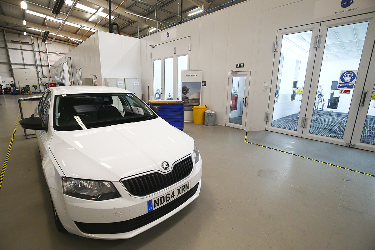 VW Group Apprenticeships Showroom